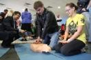 Презентация и тренировка навыков ОБЖ на манекенах ПРАКТИ-МЭН в рамках Вторых Московских Юношеских Медицинских Игр, 26 апреля 2014 года